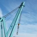 Heavy lift crane port of Norrköping