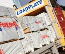 Loadplate for break bulk in the Port of Norrköping