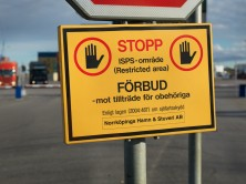 Stop sign, ISPS ban of access